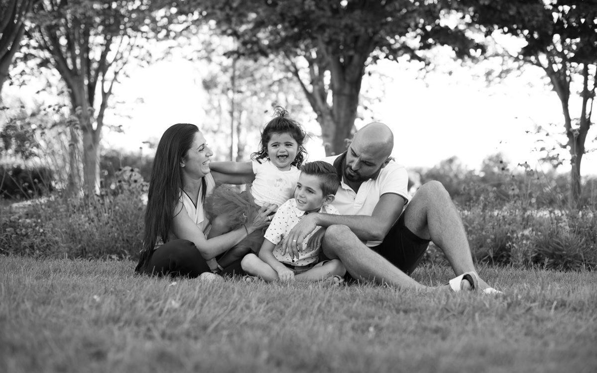 Séance photo en famille au parc Borely