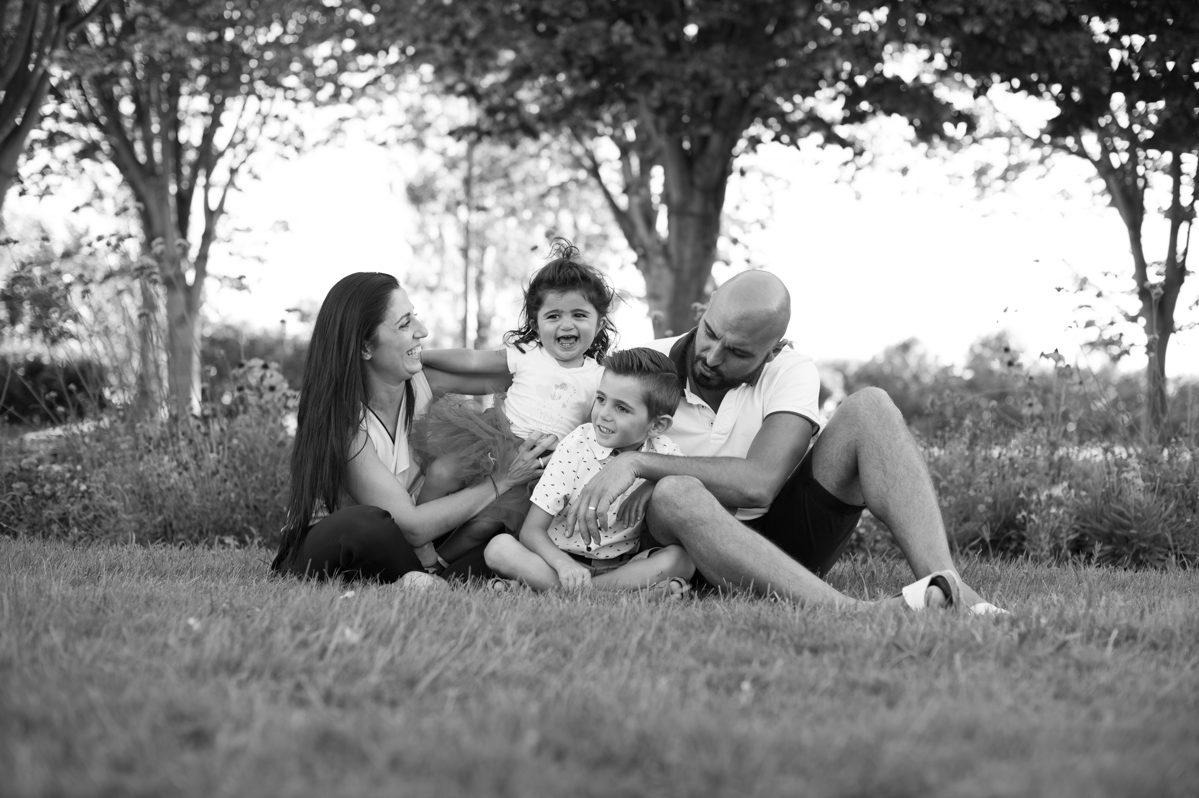Séance photos en Famille au parc Borely à Marseille