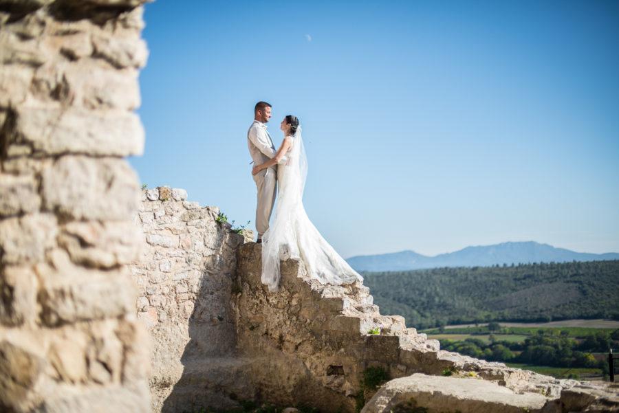 Un mariage champêtre à Seillons-Sources-d'Argens