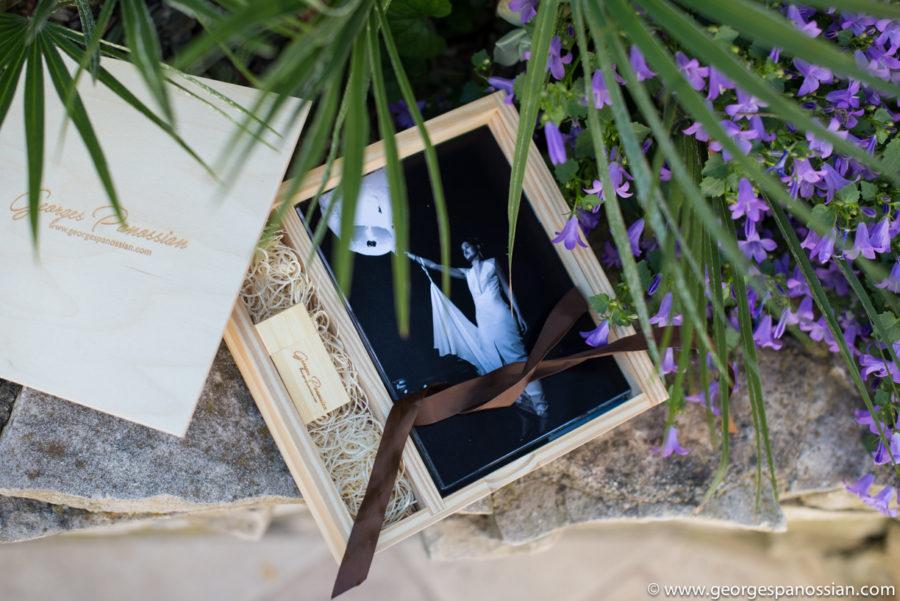 Une jolie clé USB ou un coffret pour vos photos de mariage