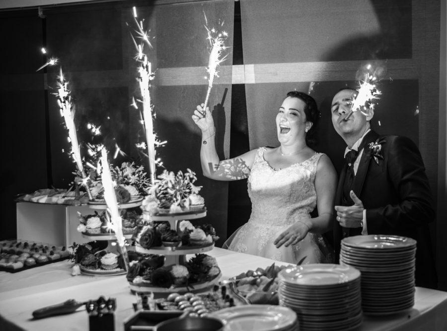Un mariage franco-italien à l'Hôtel Victor à Cabriès