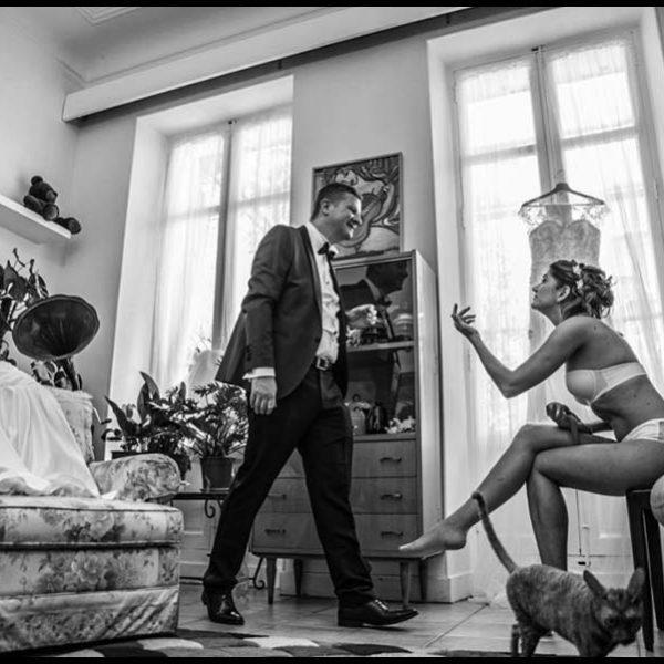 Mariage de Ioana et Anthony près de Marseille.