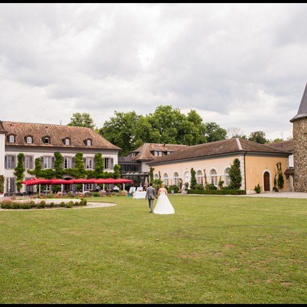 Mariage au Château de Bossey en Suisse