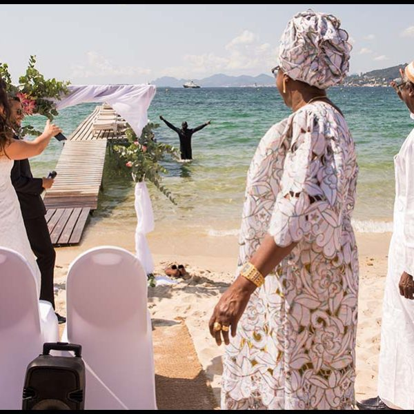 Mariage Franco-Sénégalais sur la french Riviera