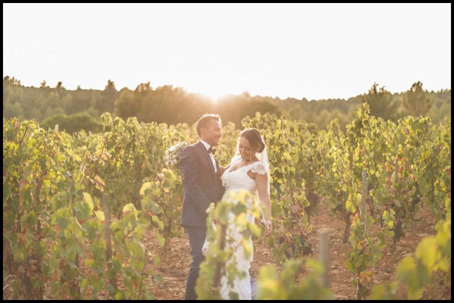 Un mariage de rêve au Domaine de La Toussane