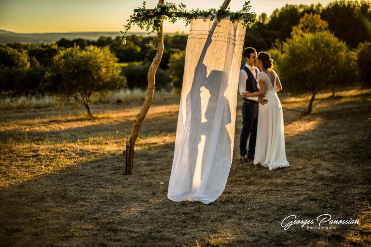 Un mariage romantique au Domaine de La Pommé à Trets